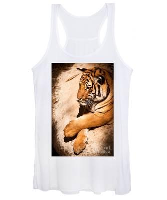 Tiger Resting Women's Tank Top