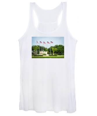 Veterans Memorial Laguna Vista Texas Women's Tank Top