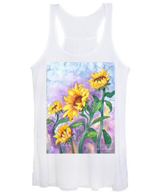 Sunny Sunflowers Women's Tank Top