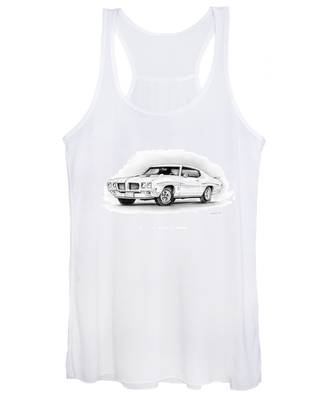1970 Pontiac Gto Judge Women's Tank Top