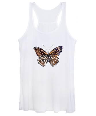 9 Mexican Silver Spot Butterfly Women's Tank Top