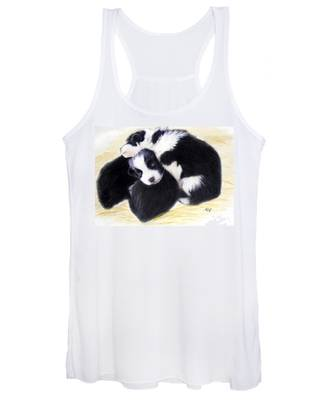 Australian Cattle Dog Puppies Women's Tank Top