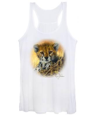 Baby Cheetah  Women's Tank Top