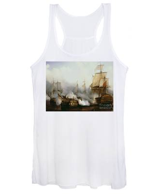 Battle Of Trafalgar Women's Tank Top