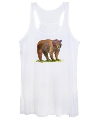 Bear In Mind Women's Tank Top
