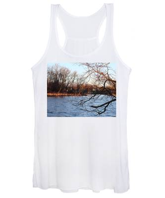 Branches Over Water Women's Tank Top