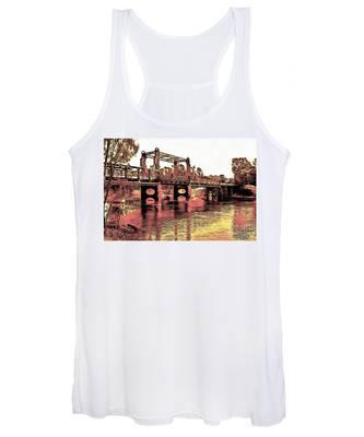 Bridge Over Murray River Women's Tank Top
