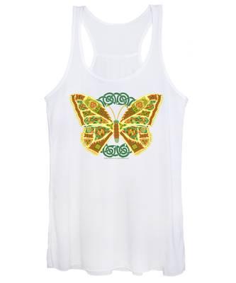 Celtic Butterfly Women's Tank Top