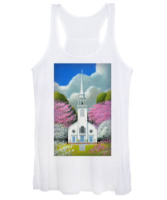 Church Of The Dogwoods Women's Tank Top