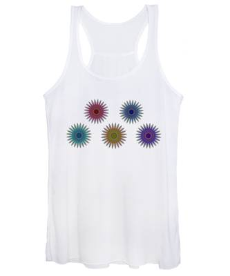 Five Flowers Women's Tank Top