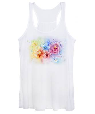 Flower Women's Tank Tops