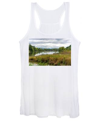 fort Clatsop on the Columbia River Women's Tank Top