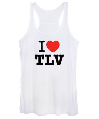 i love TLV Women's Tank Top