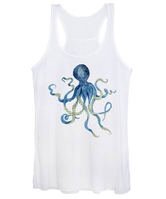 Designs Similar to Indigo Ocean Blue Octopus