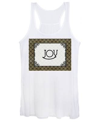Joy - Art Deco Women's Tank Top