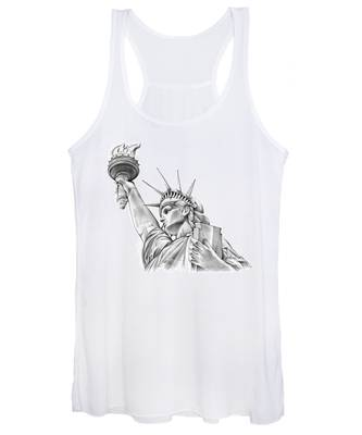 Lady Liberty Women's Tank Top