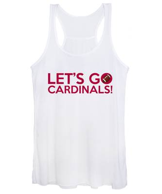 Let's Go Cardinals Women's Tank Top