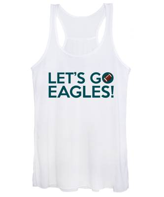 Let's Go Eagles Women's Tank Top