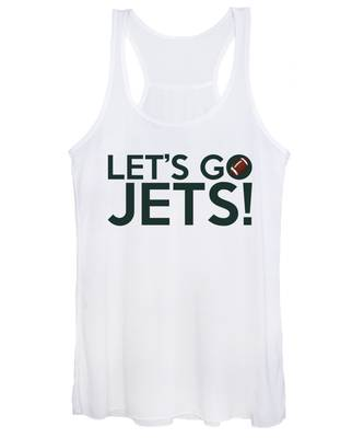 Let's Go Jets Women's Tank Top