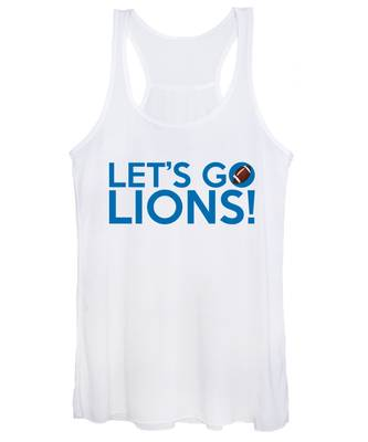 Let's Go Lions Women's Tank Top