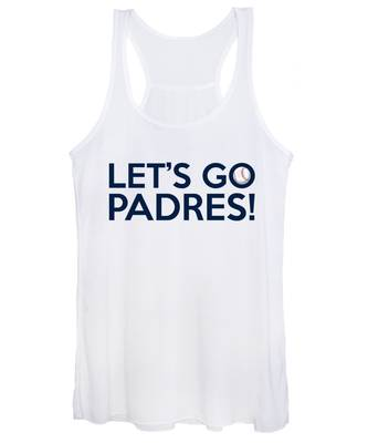 Let's Go Padres Women's Tank Top