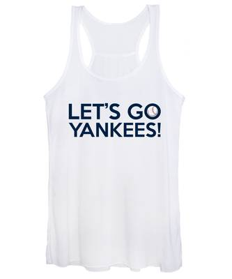 Let's Go Yankees Women's Tank Top