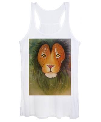 Lion Women's Tank Tops