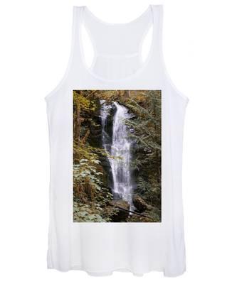 Magical Falls Quinault Rain Forest Women's Tank Top