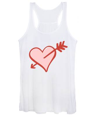 Women's Tank Top featuring the digital art My Heart by Alice Gipson