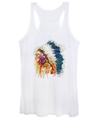Indian Chief Women's Tank Tops