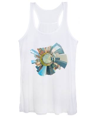 Women's Tank Top featuring the photograph New York Circle by Alice Gipson