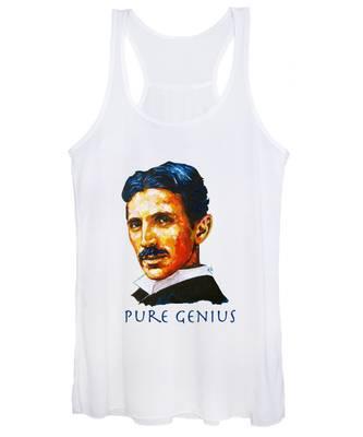 Pure Genius - Tesla Women's Tank Top