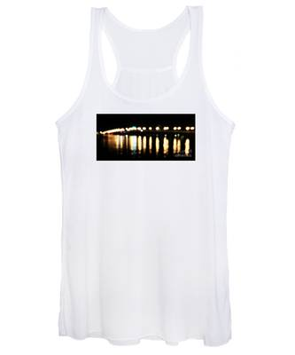Bridge Of Lions -  Old City Lights Women's Tank Top