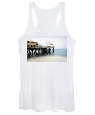 Softly On The Pier Women's Tank Top
