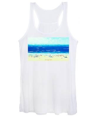 Sunday At Bondi Women's Tank Top