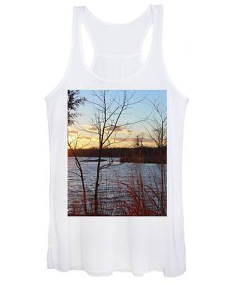 Sunset On The River Women's Tank Top