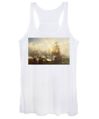 Unknown Title Sea Battle Women's Tank Top