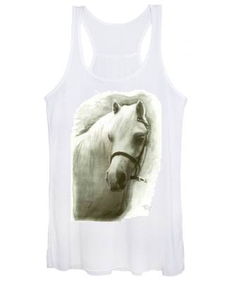 White Welsh Pony Women's Tank Top