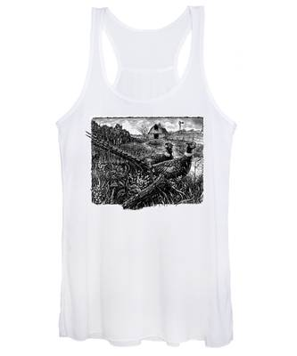 Pheasants Women's Tank Top