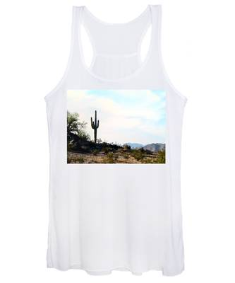 Women's Tank Top featuring the photograph Airizona Home Sweet Home by Judy Kennedy