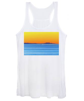 Golden Sunset Series I I Women's Tank Top