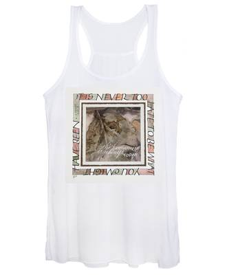 Never Too Late Women's Tank Top