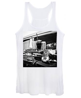 Night At The Drive-in Movies Women's Tank Top