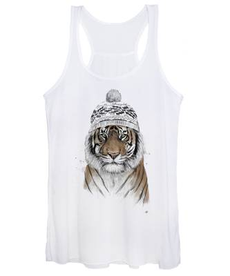 Tiger Women's Tank Tops