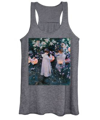 Carnation Lily Lily Rose Women's Tank Top