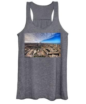 Tel Aviv Skyline Women's Tank Top
