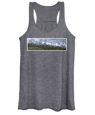 Tetons Panorama Women's Tank Top