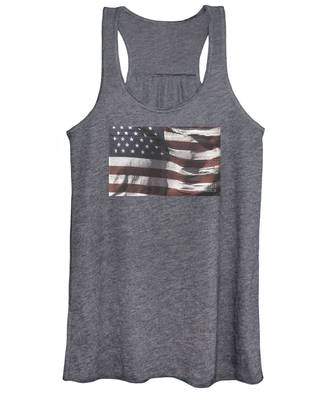 Historical Documents On Us Flag Women's Tank Top