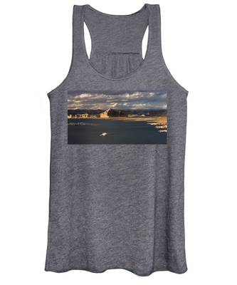 Castle Rock Sunset Women's Tank Top