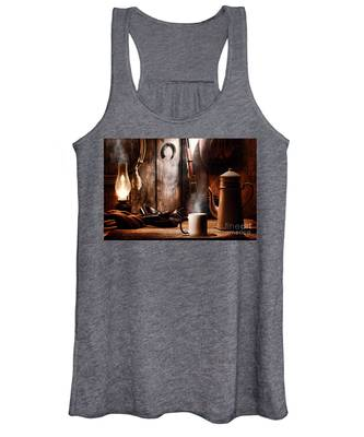Coffee At The Cabin Women's Tank Top